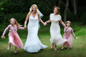 Happy alterations customer Wedding dress alterations